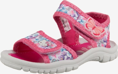 HELLO KITTY Sandalen in mischfarben / pink, Produktansicht