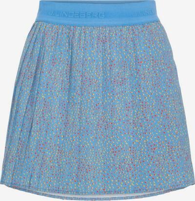 J.Lindeberg Jupe de sport 'Chloe' en bleu, Vue avec produit