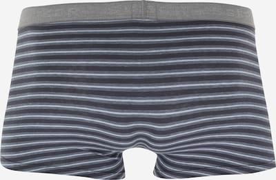 SCHIESSER Boxershorts  (2er Pack) in dunkelblau / grau / anthrazit: Rückansicht