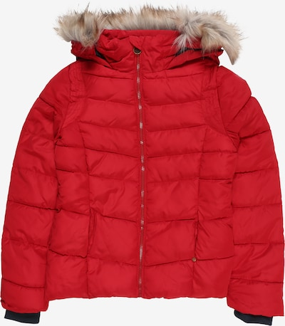 Petrol Industries Winterjas 'Girls Jacket Puff' in de kleur Vuurrood, Productweergave