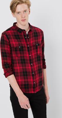 Overhemd Rood Zwart.Lee Overhemd Western In Rood Zwart Delicate Adoc2 Masoft Net