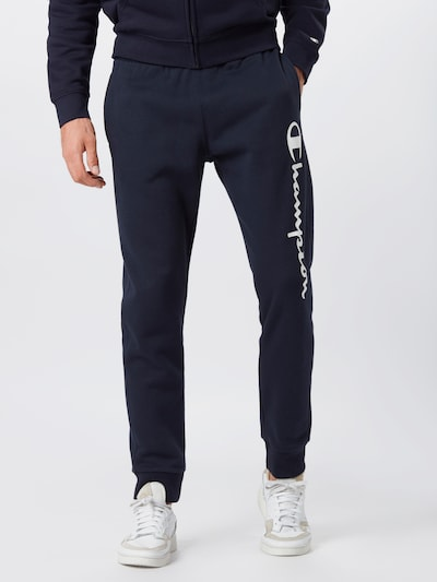 Champion Authentic Athletic Apparel Hose in navy / weiß: Frontalansicht