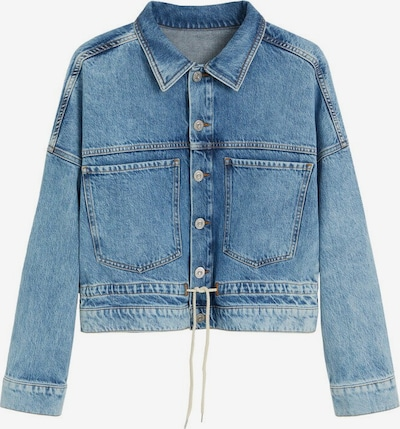 MANGO Jeansjacke in blue denim, Produktansicht