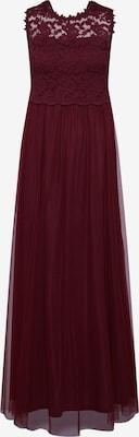 Robe de soirée 'Lynnea' - VILA en lie de vin