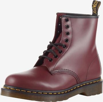 Dr. Martens Schnürstiefel 'Eye Boot Smooth' in Rot