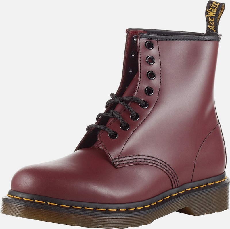 Dr. Derber Martens Derber Dr. Schnürstiefel 'Eye Boot Smooth' 95aae6
