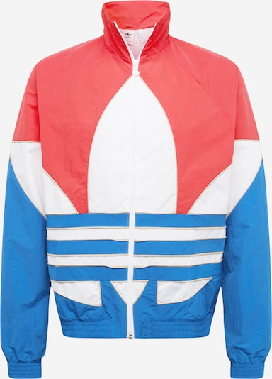 ADIDAS ORIGINALS Prehodna jakna | kraljevo modra / roza / bela barva, Prikaz izdelka