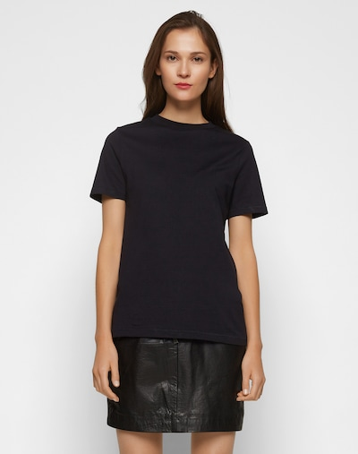 SELECTED FEMME T-Shirt 'MY PERFECT' in schwarz: Frontalansicht