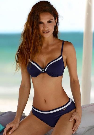 LASCANA Bikiny - námornícka modrá / biela, Model/-ka