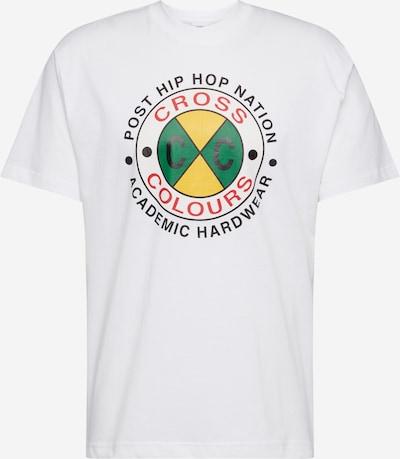 CROSS COLOURS T-Shirt en jaune / vert / blanc, Vue avec produit