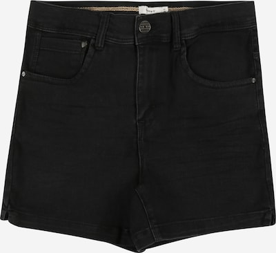 NAME IT Jeansshorts in black denim, Produktansicht