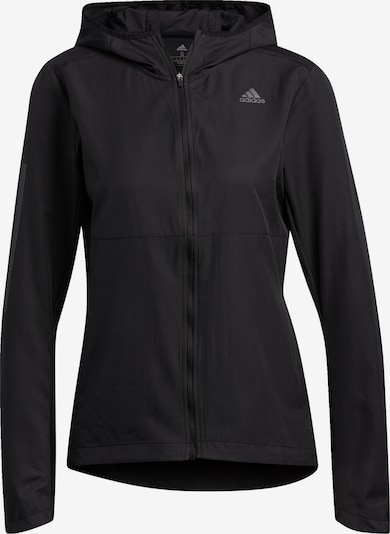 ADIDAS PERFORMANCE Jacke 'Own The Run' in schwarz, Produktansicht