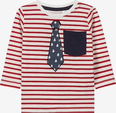 NAME IT T-Shirt in rot / weiß, Produktansicht