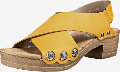 RIEKER Sandalette in gelb, Produktansicht