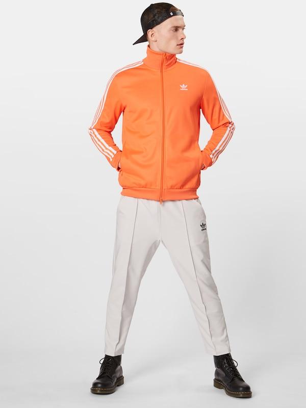 Beckenbauer Orange 'franz En De Tracktop' Originals Adidas Veste Survêtement dxoeWrCB