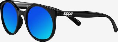 ZIPPO Sonnenbrille mit Steg in türkis / schwarz, Produktansicht