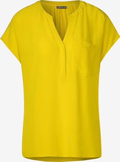 STREET ONE Bluse mit Brusttasche in gelb, Produktansicht