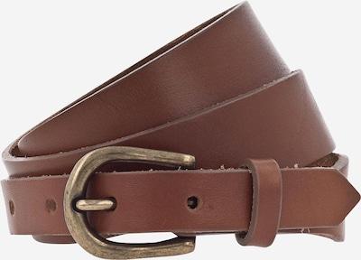 Curea '30mm' MUSTANG pe coniac / auriu, Vizualizare produs