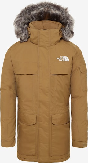 THE NORTH FACE Funktionsjacke 'Mcmurdo' in sand: Frontalansicht