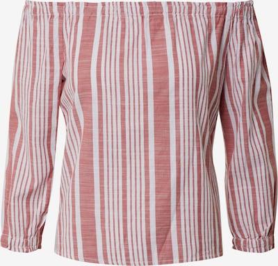 ONLY Bluse in rot / weiß, Produktansicht