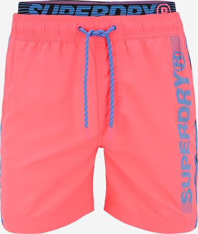 Superdry Badeshorts 'STATE VOLLEY' in blau / pink / schwarz, Produktansicht