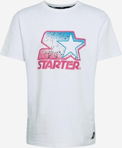 Starter Black Label Shirt 'Multicolored' in pink / weiß, Produktansicht