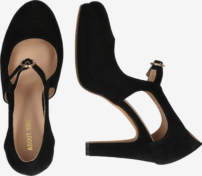 ABOUT YOU Pumps 'Ilaria Shoe' in schwarz: Seitenansicht