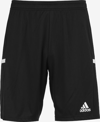 ADIDAS PERFORMANCE Trainingsshorts 'Team 19 ' in schwarz / weiß, Produktansicht