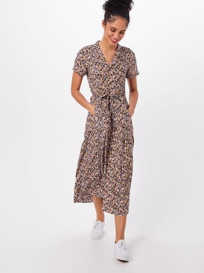 Iriedaily Kleid 'Bloomie Dress' in karamell / schwarz, Modelansicht