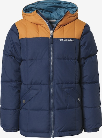 COLUMBIA Winterjacke 'Gyroslope' in dunkelblau / apricot, Produktansicht