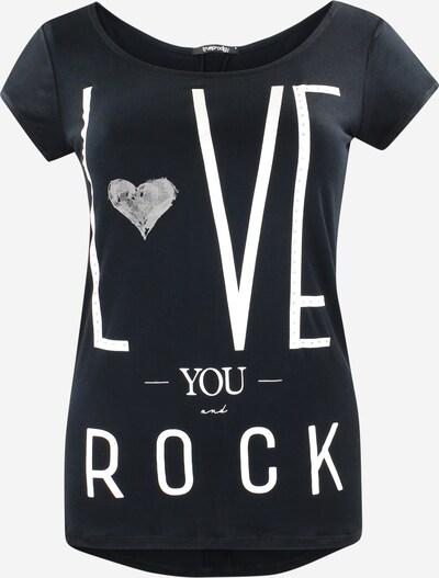 trueprodigy T-Shirt 'Gabrielle' in schwarz / weiß, Produktansicht