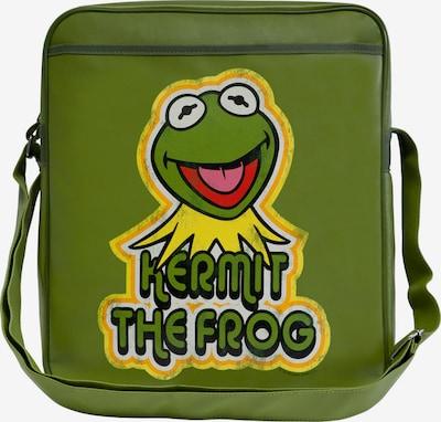 LOGOSHIRT Tasche 'Kermit der Frosch' in gelb / grün / rot, Produktansicht
