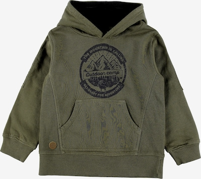 BÒBOLI Kapuzensweatshirt in khaki, Produktansicht