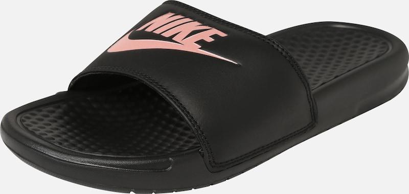 Nike Sportswear Papucs 'Benassi Just Do It' rózsa fekete