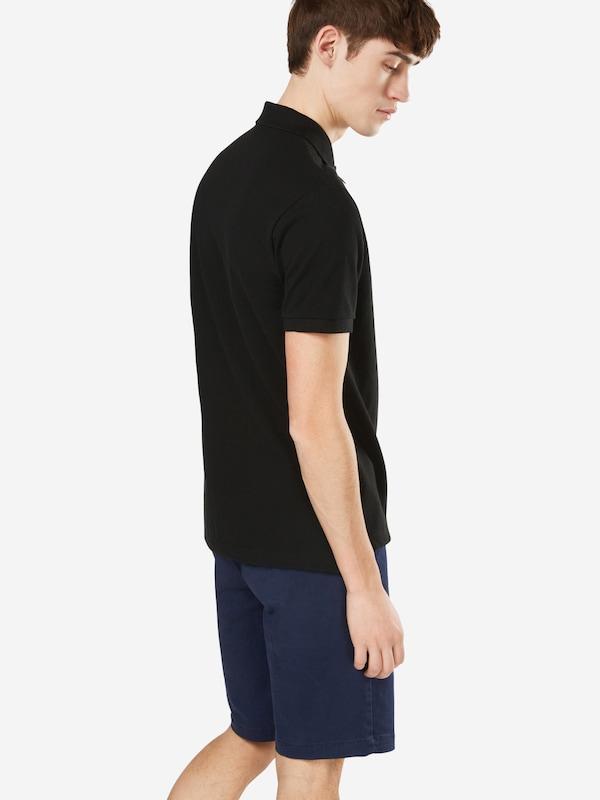 shirt Noir 'pique' En T Gap 8yNOm0vwn