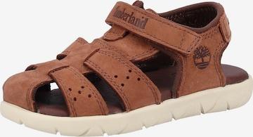 TIMBERLAND Sandale in Braun