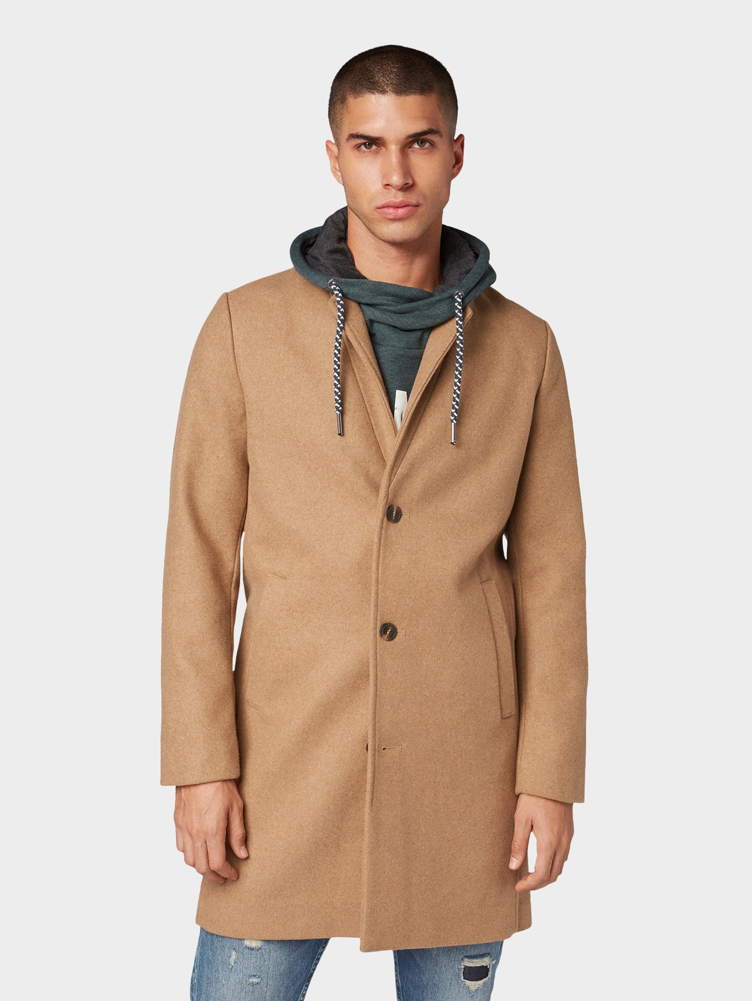 Denim Dunkelbeige Wollmantel Tom In Jackets Tailor Jackenamp; Klassischer xrdBoCe