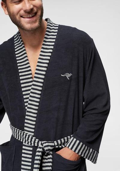 KangaROOS Bademantel 'Cilio' in marine / weiß, Produktansicht