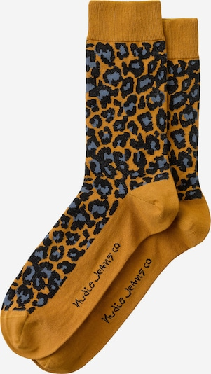 Nudie Jeans Co Socken ' Olsson Leopard ' in mischfarben, Produktansicht