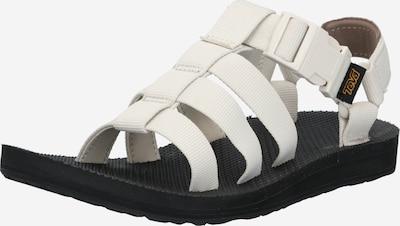 TEVA Sandal 'Dorado' i svart / vit, Produktvy
