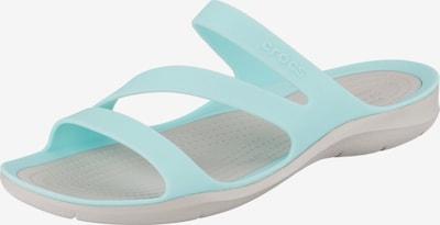 Crocs Pantoletten  'Swiftswater Sandal' in türkis / perlweiß, Produktansicht