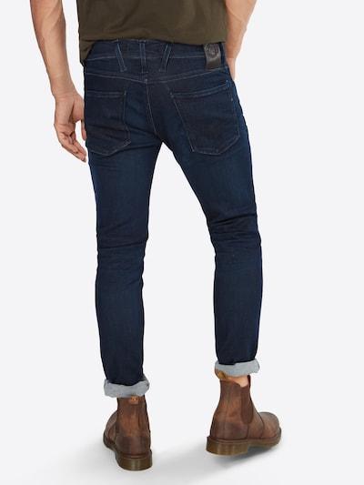 REPLAY Jeans 'Anbass' in ultramarinblau: Rückansicht