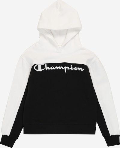 Champion Authentic Athletic Apparel Sweatshirt in schwarz / weiß: Frontalansicht