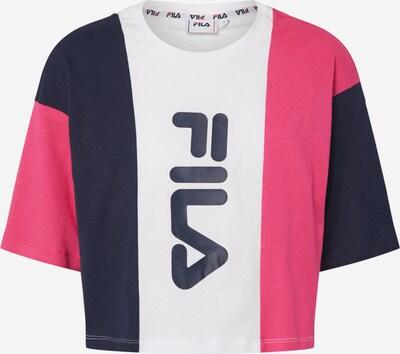 FILA T-Shirt ' Bai' in pink / schwarz / weiß, Produktansicht