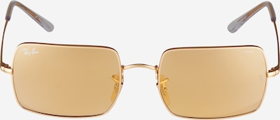 Ray-Ban Lunettes de soleil en jaune d'or, Vue avec produit