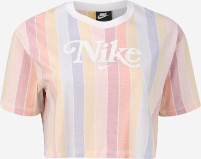 Nike Sportswear Majica 'RET FEM' | dimno modra / svetlo rumena / svetlo roza / svetlo rdeča / bela barva, Prikaz izdelka