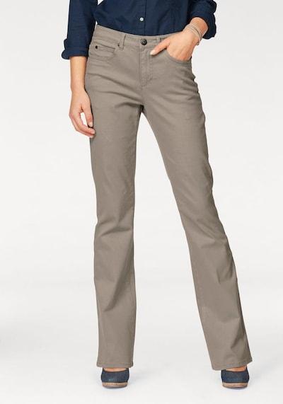 ARIZONA Bootcut-Jeans 'Comfort-Fit' in braun, Produktansicht