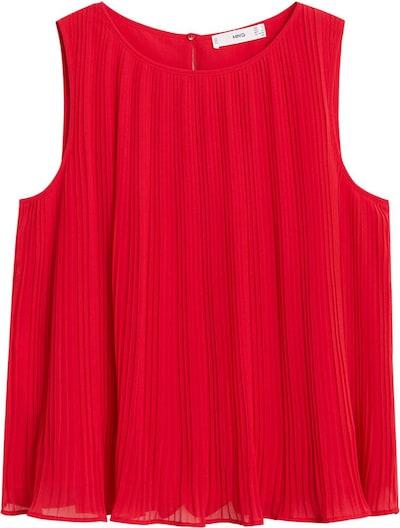 MANGO Bluse in rot, Produktansicht