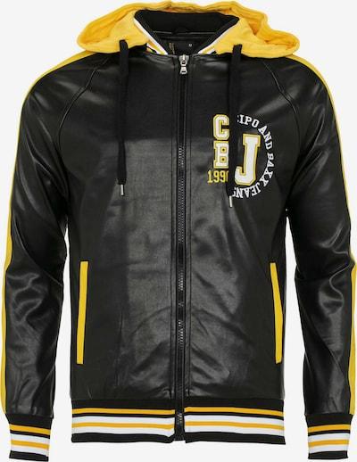 CIPO & BAXX Jacke in gelb / schwarz / weiß, Produktansicht