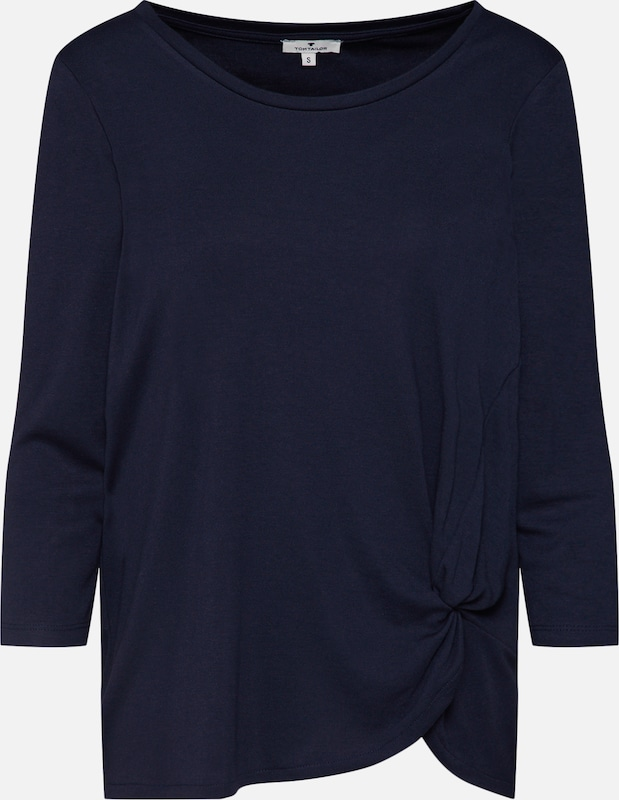 Tailor Foncé shirt T En Bleu Tom SzMqUVGp